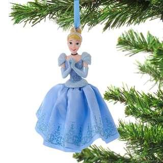 Japan Disneystore Disney Store Christmas 2018 Cinderella Dress Ornament Preorder