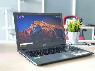 Acer high-spec laptop