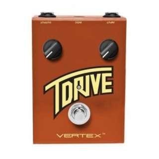 """Vertex Effects T-Drive British """"Vox"""" Sound"""
