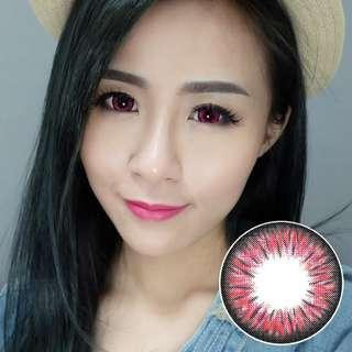 Kazzue Premium Pink , 3 Months Colors Contact Lens with power 0.00 to -8.00 can mix power left right