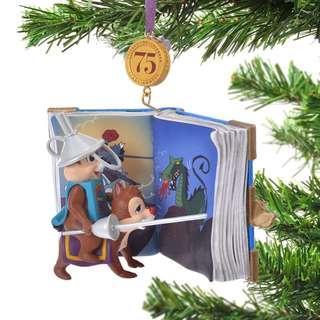 Japan Disneystore Disney Store Christmas 2018 Chip & Dale Legacy Ornament Preorder