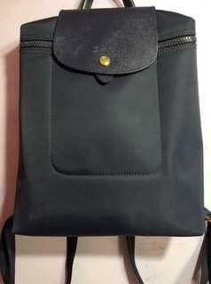 LONGCHAMP DARK BLUE BAGPACK