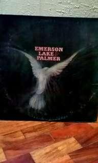 Emerson, Lake & Palmer debut studio album LP vinyl music record