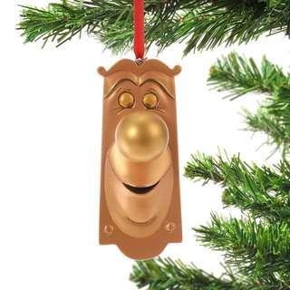 Japan Disneystore Disney Store Christmas 2018 Alice in Wonderland Doorknob Ornament Preorder