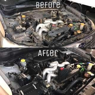 Engine Bay Chemical Wash