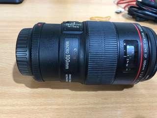 Lensa canon macro 100mm F2.8L series