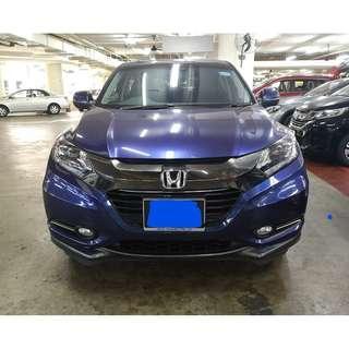 Honda Vezel Hybrid 1.5 For Rent Call Now!