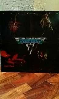 Van Halen debut studio album LP vinyl music record