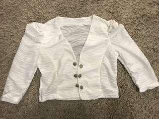 🚚 白色小外套