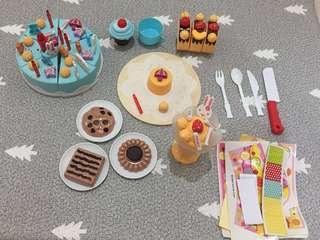 Mainan DIY Birthday cake
