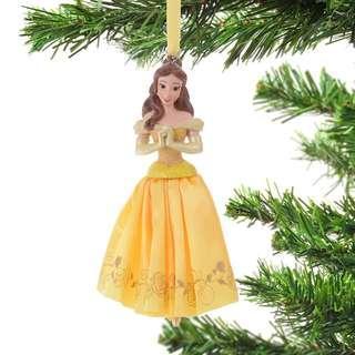 Japan Disneystore Disney Store Christmas 2018 Belle Dress Ornament Preorder