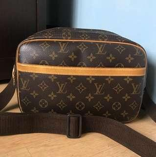 Authentic Louis Vuitton Reporter Pm
