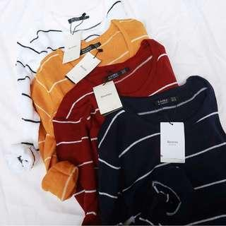 Knitwear BERSHKA Stripe