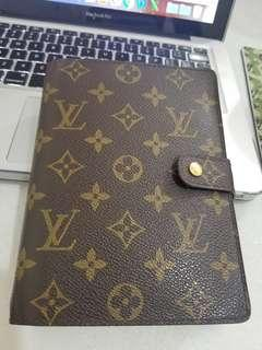Authentic Louis Vuitton Agenda MM