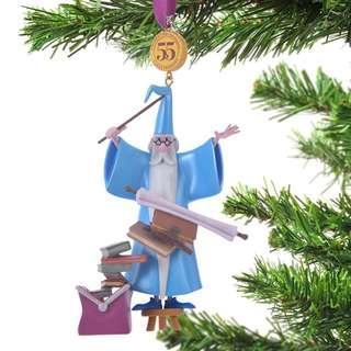 Japan Disneystore Disney Store Christmas 2018 Merlin Legacy Ornaments Preorder