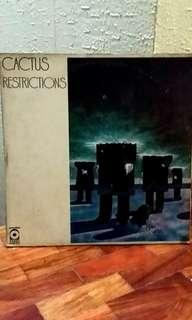"Cactus ""Restrictions"" LP vinyl music record"