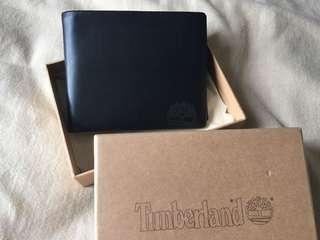 Timberland 男裝黑色銀包Wallet