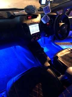 Car interior lighting package