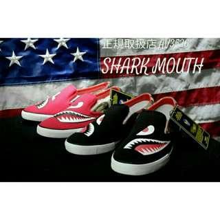 Avirex Shark Mouth Slip On Shoe