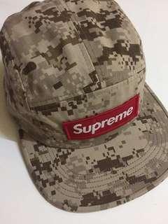 Supreme camp cap 厚章