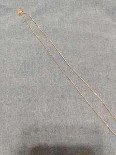 100% New 925 純銀 頸鏈 15吋 39cm Silver necklace