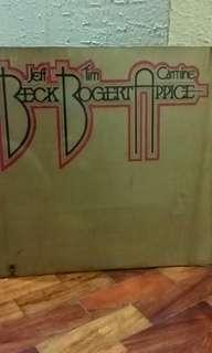 Beck, Bogert & Appice debut studio album LP vinyl music record