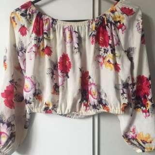 Mink pink crop open to offers