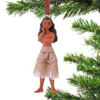 Japan Disneystore Disney Store Christmas 2018 Moana Ornament Preorder