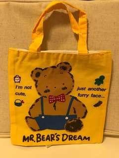 Vintage Sanrio mr bear's dream mr bear dream 小袋仔