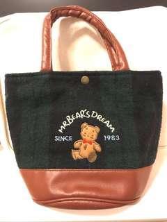 Vintage Sanrio mr bear's dream mr bear dream 手挽袋