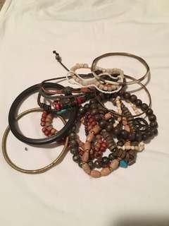 Bracelets $1 bundle