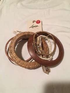 New bracelets $1 bundle