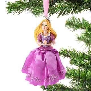 Japan Disneystore Disney Store Christmas 2018 Rapunzel Tangled Dress Ornament Preorder
