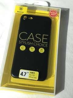 Casing iPhone7 Black Hitam