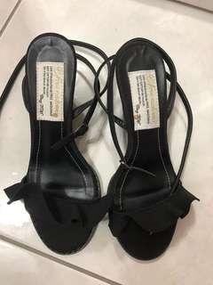 🚚 楔型涼鞋 全新22.5 適合小腳姐妹