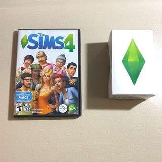 Sims 4 遊戲機光碟 (Mac機適用) + 珍藏版LED水晶燈 💎