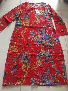 長身裙 中國風裙 旅遊裙 dress one piece 上海灘 媽咪 旗袍 歐美 China 大碼
