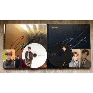 SIGNED NU'EST W WHO YOU ALBUM