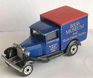 Diecast model car, BASS MESEUM and Shire Horse Stables, Used