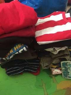 3-4 years old bundle of boys clothes to clear
