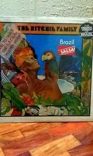 "The Ritchie Family ""Brazil"" LP vinyl music record"