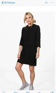 Boohoo hoody dress