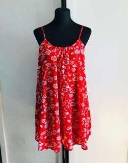 Forever 21 low back floral dress