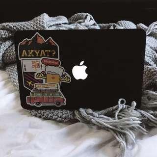 """Macbook Air 13"""" Matte Black Case"""