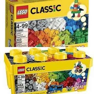 Lego classic bundling 10696 dan 10693 original