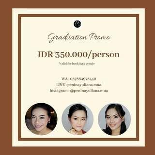 Promo Makeup For Graduation