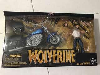 Marvel Wolverine with Bike