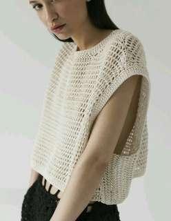 Forever 21 Crochet Knit Crop Top Original