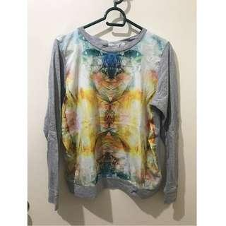 Forever 21 Printed Sweater