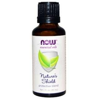 Nature's Shield (dupe for Young Living Thieves oil), Now Foods (30ml)